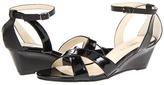 Christin Michaels Zofia (Black Patent) - Footwear