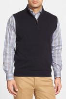 John W. Nordstrom Quarter Zip Cashmere Vest