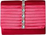 Jessica McClintock Katie Satin Stone Clutch Clutch Handbags