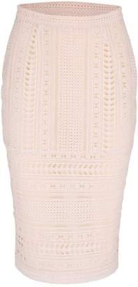 Estelle London Ammara Lace Pencil Skirt