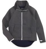 Zella Girl's Raglan Sleeve Zip-Up Jacket