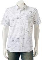 Vans Men's Blueprint Button-Down Shirt