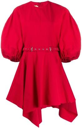 Marques Almeida Belted Asymmetric Dress