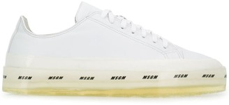 MSGM logo sole sneakers