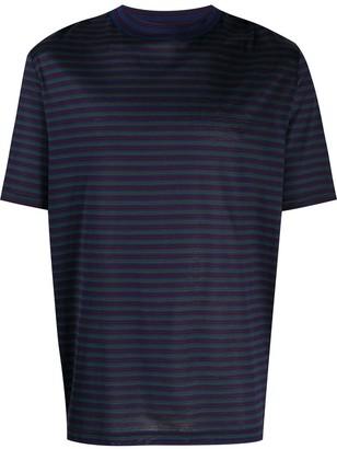 Lanvin striped short sleeve T-shirt