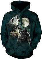 The Mountain Three Wolf Moon Hoodie