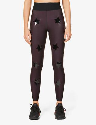 ULTRACOR Super Drop star-print high-rise stretch-jersey leggings
