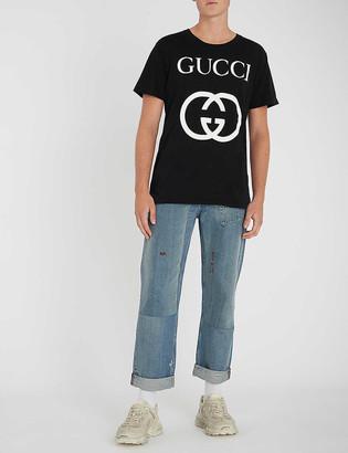Gucci Logo-print cotton-jersey T-shirt