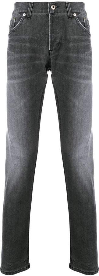 Dondup faded slim fit jeans