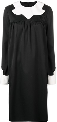 MM6 MAISON MARGIELA Contrast Collar Dress