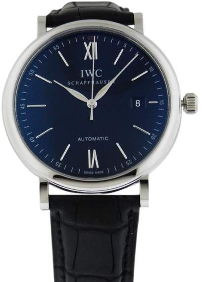 IWC Portofino Automatic Black Dial IW356502 Watch
