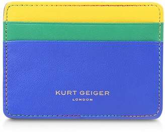 Kurt Geiger Rainbow Shop 690 Tricolor Card Holder