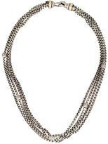 David Yurman Pavé Diamond Bead Station Multistrand Necklace