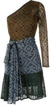 Cecilia Prado knit asymmetric dress