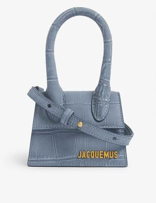Jacquemus Le Chiquito suede top handle bag