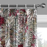 MICHELE HOME FASHION (Set of 2 panels) 25 Sizes Available Contemporary Print Religious Style Color Sketch Blossoms Blackout Lining Window Treatment Draperies & Curtains Panels