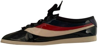 Gucci Falacer Black Patent leather Trainers