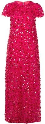 Carolina Herrera Sequin-Embellished Gown