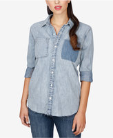 Lucky Brand Cotton Boyfriend Shirt