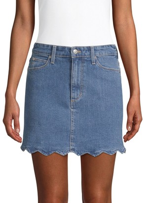 Joe's Jeans Bella High-Rise Denim Mini Skirt