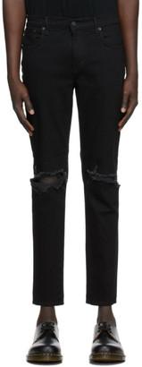 Moussy Black MVM Birds Skinny Jeans