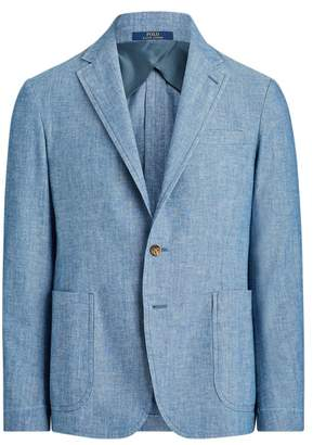 Ralph Lauren Morgan Chambray Suit Jacket