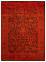 Solo Rugs Overdyed Hand-Knotted Wool Rug