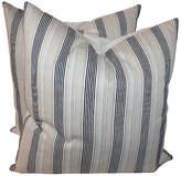 One Kings Lane Vintage 19th-C. Striped Pillows