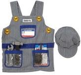 Melissa & Doug Toddler 'Train Engineer' Personalized Costume Set