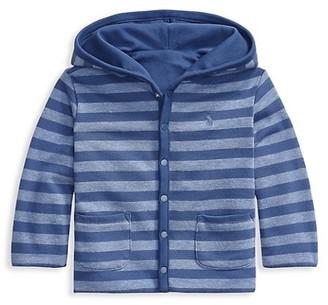 Ralph Lauren Baby Boy's Reversible Atlantic Terry Hooded Jacket