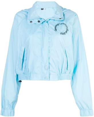 Opening Ceremony cropped track jacket