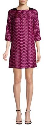 Milly Julia Chain Print Mini Dress