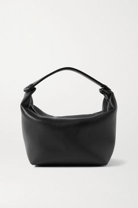 The Row Les Bains Mini Leather Tote - Black