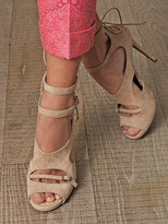 Tabitha Simmons Bailey suede sandals