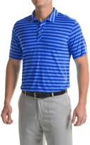 Puma Striped Crest Polo Shirt - Short Sleeve (For Men)