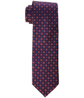 Eton Bold Small Medallion Silk Tie