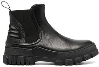 Pollini Lug-Sole Chelsea Boots
