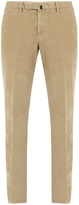 Incotex Slim-leg cotton-corduroy trousers