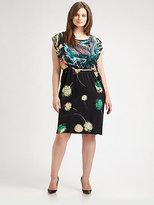 Anna Scholz Anna Scholz, Salon Z Keyhole-Back Dress