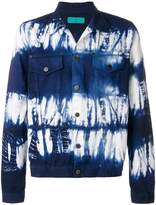 Paura tie dye denim jacket