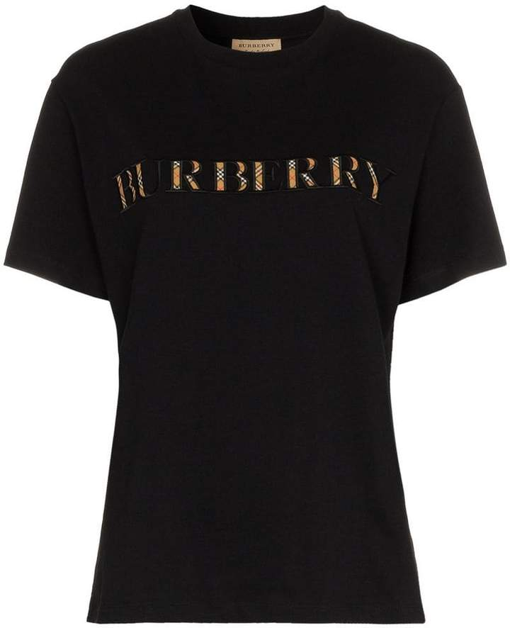 Burberry logo appliqué t-shirt