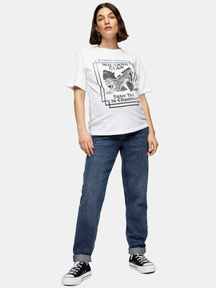Topshop Maternity Mom Jeans - Blue