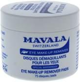 Mavala Eye-Lite Eye Makeup Remover Pads 75 Count