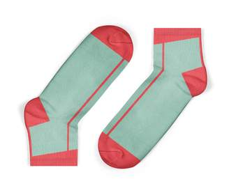 Unisock Coral Stripe Ankle Socks