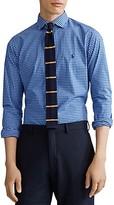 Polo Ralph Lauren Slim Fit Plaid Cotton Poplin Shirt