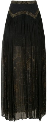 Camilla Cobra King skirt