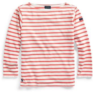 Ralph Lauren Striped Boatneck Shirt