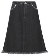Acne Studios Gisella A-line Denim Skirt