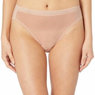OnGossamer Women's Gossamer Mesh Hi-Cut Brief Panty