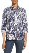 Foxcroft Women's Floral Print Shirt